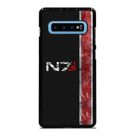 Mass Effect N7 Symbol for Samsung Galaxy S10 Plus Case Cover