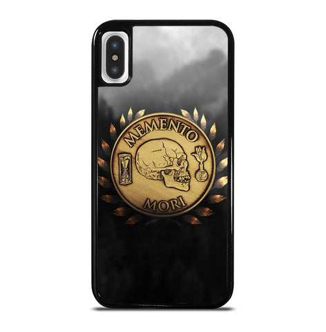 Memento Mori for iPhone X and XS Case