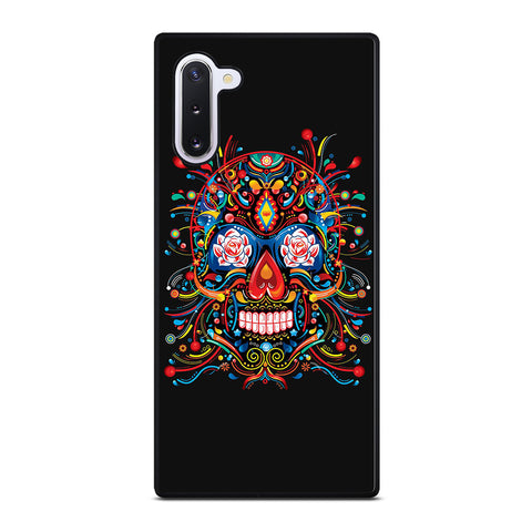 Mexican Sugar Skull Tattoo for Samsung Galaxy Note 10 Case