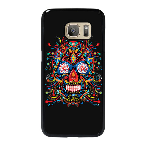 Mexican Sugar Skull Tattoo for Samsung Galaxy S7 Case Cover