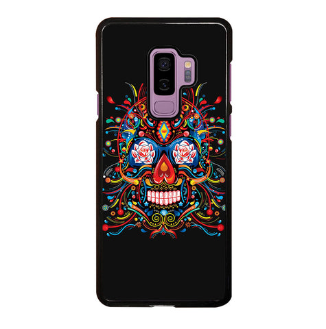 Mexican Sugar Skull Tattoo for Samsung Galaxy S9 Plus Case Cover