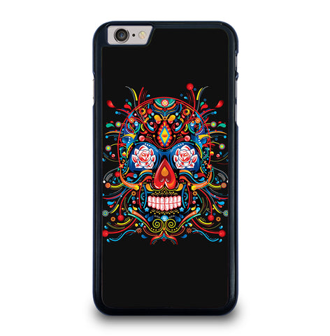 Mexican Sugar Skull Tattoo for iPhone 6 and 6S Plus Case