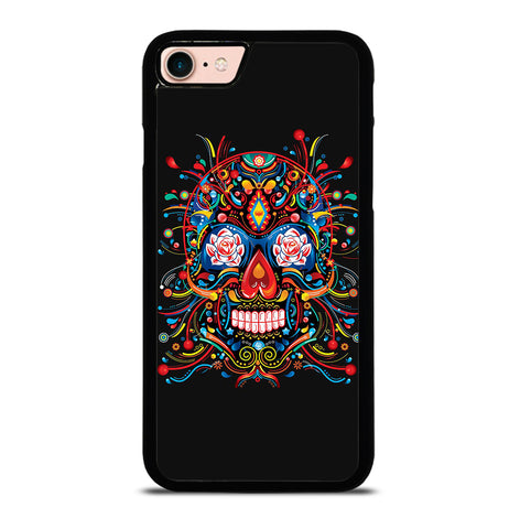 Mexican Sugar Skull Tattoo for iPhone 7 or 8 Case