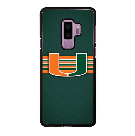 Miami Hurricanes for Samsung Galaxy S9 Plus Case Cover