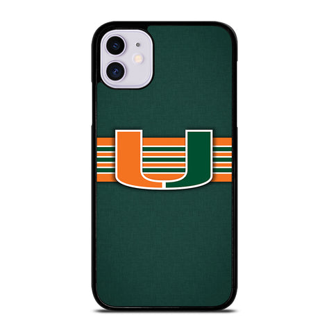 Miami Hurricanes for iPhone 11 Case