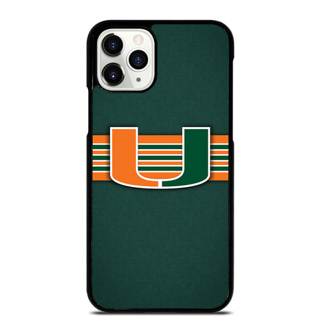 Miami Hurricanes for iPhone 11 Pro Case