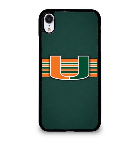 Miami Hurricanes for iPhone XR Case Cover