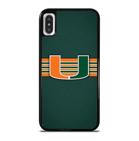 Miami Hurricanes for iPhone X or XS Case Cover