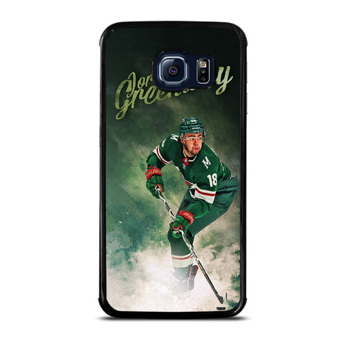 Minnesota Wild Jordan Greenway for Samsung Galaxy S6 Edge Case Cover