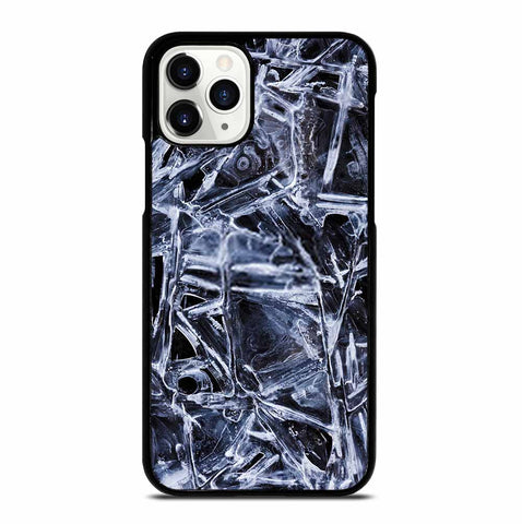 NATURAL PATTERNS OF FROZEN WATER SURFACE iPhone 11 Pro Case Cover