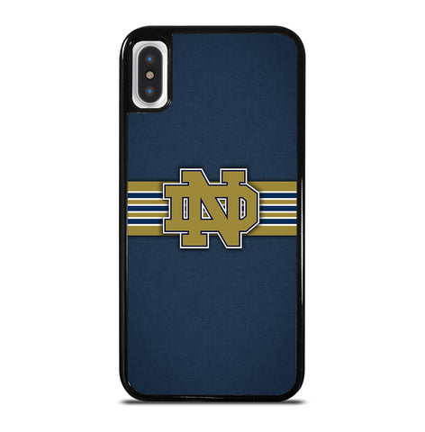 Notre Dame Fighting Irish Football for iPhone X or XS Case Cover