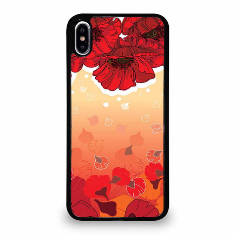 OCTOPUS FLOWER GARDEN iPhone XS Max Case