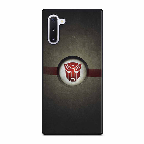 OPTIMUS PRIME TRANSFORMERS AUTOBOTS for Samsung Galaxy Note 10 Case
