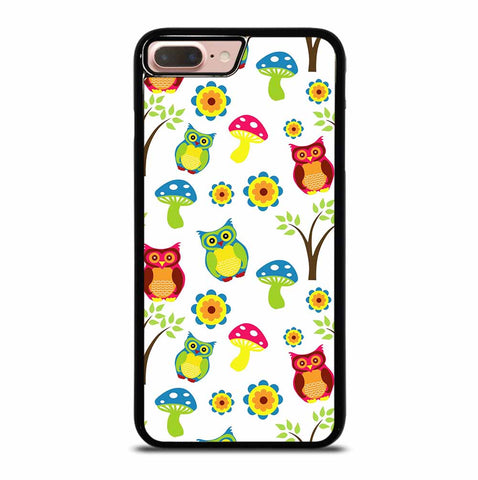 OWL PATTERN for iPhone 7 or 8 Plus Case Cover