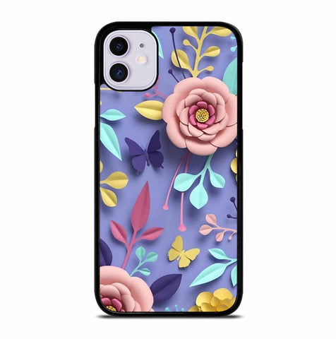 PETAL FLOWER PATTERN for iPhone 11 Case Cover