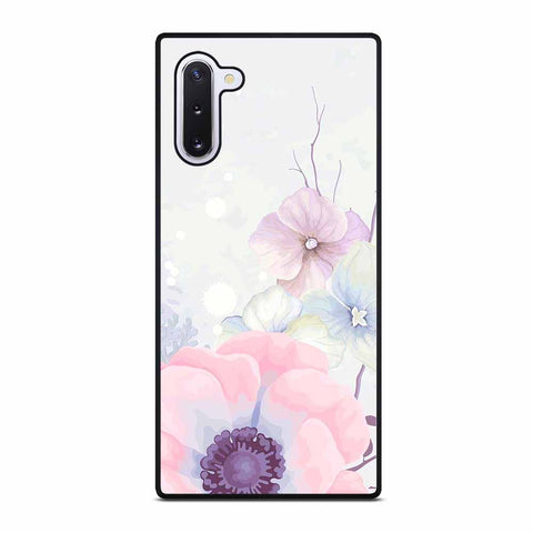 PRETTY PINK FLOWER PATTERN for Samsung Galaxy Note 10 Case