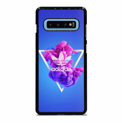 PURPLE ADIDAS LOGO for Samsung Galaxy S10 Plus Case Cover