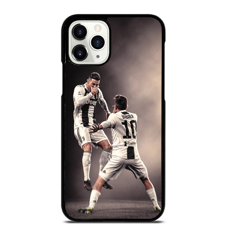Paulo Dybala and Cristiano Ronaldo for iPhone 11 Pro Case Cover