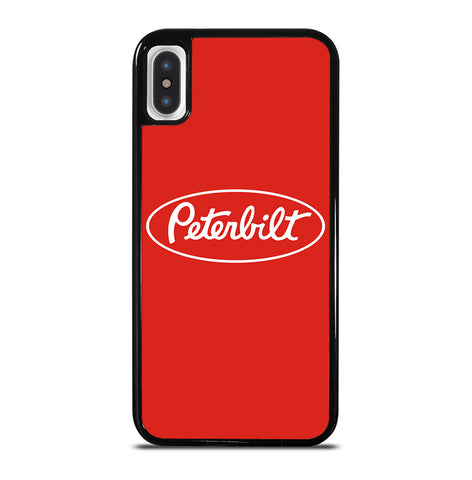 Peterbilt Truck Logo for iPhone X and XS Case