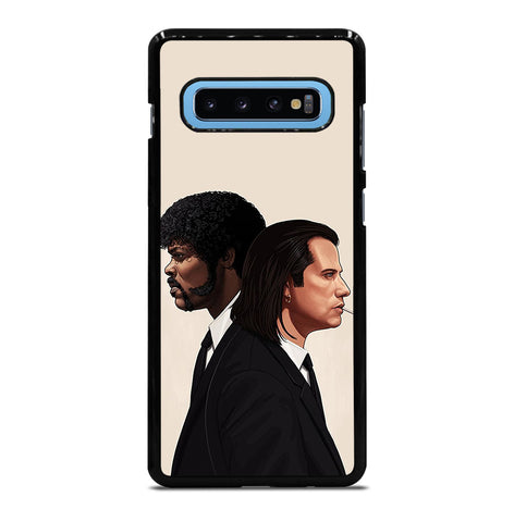 Pulp Fiction Vincent And Jules for Samsung Galaxy S10 Plus Case Cover
