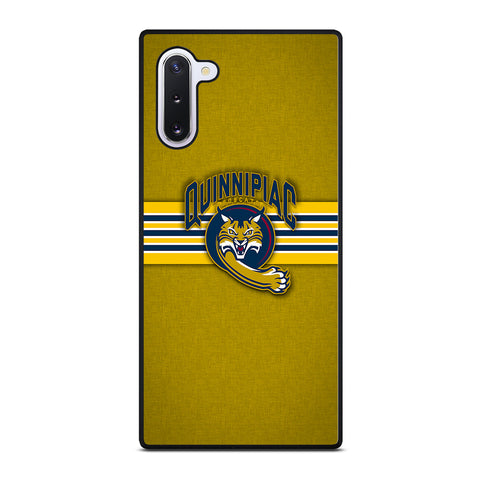 Quinnipiac Bobcats for Samsung Galaxy Note 10 Case Cover