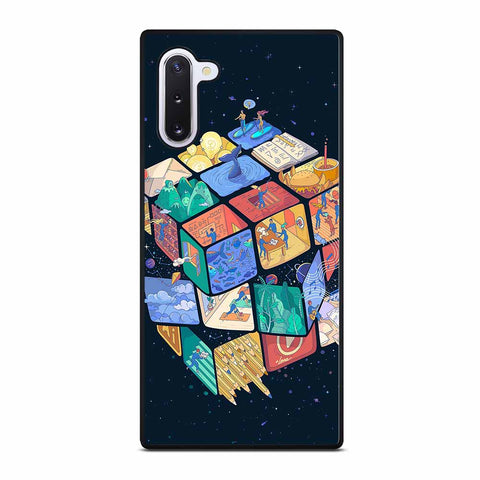 RUBIK'S CUBE PATTERNS for Samsung Galaxy Note 10 Case