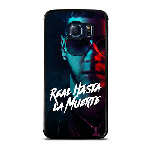 Real Hasta La Muerte Poster for Samsung Galaxy S6 Edge Case