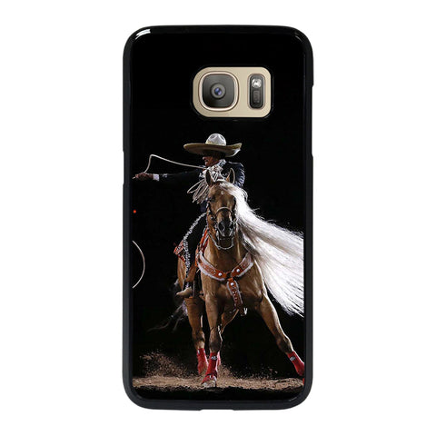 Rodeo Cowboy Lasso Horse for Samsung Galaxy S7 Case