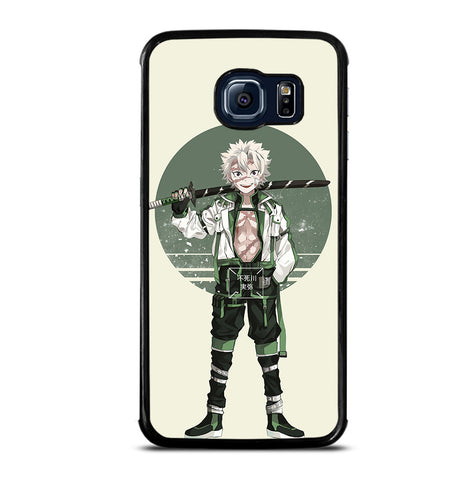Sanemi Shinazugawa Kimetsu no Yaiba for Samsung Galaxy S6 Edge Case