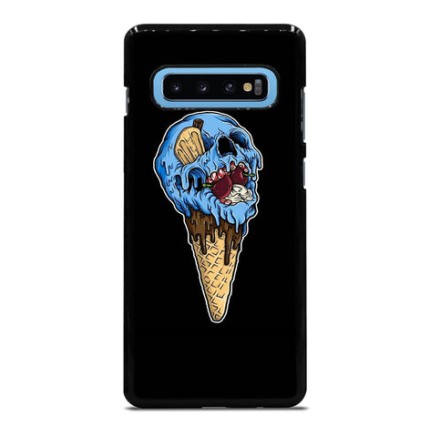 Skull Ice Cream Cone for Samsung Galaxy S10 Plus Case Cover