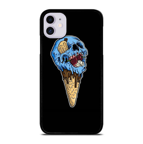 Skull Ice Cream Cone for iPhone 11 Case Cover