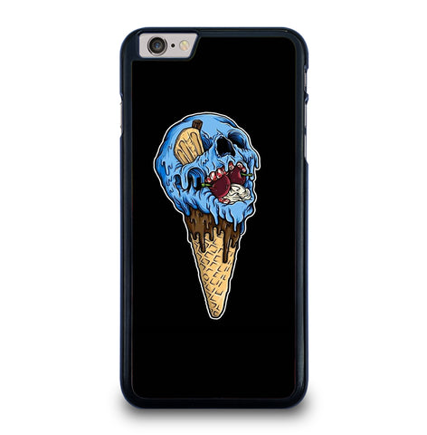 Skull Ice Cream Cone for iPhone 6 and 6S Plus Case