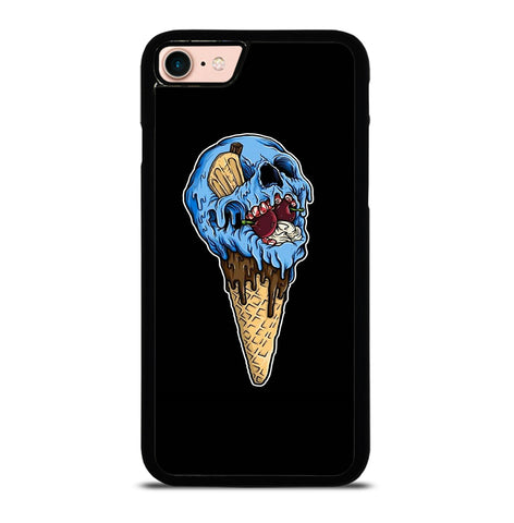 Skull Ice Cream Cone for iPhone 7 or 8 Case Cover