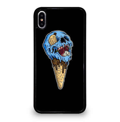 Skull Ice Cream Cone for iPhone XS Max Case
