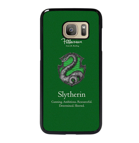 Slytherin Pottermore Logo for Samsung Galaxy S7 Case
