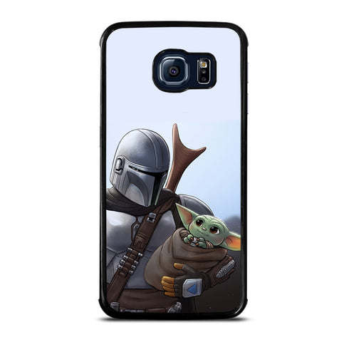 THE MANDALORIAN AND BABY YODA for Samsung Galaxy S6 Edge Case
