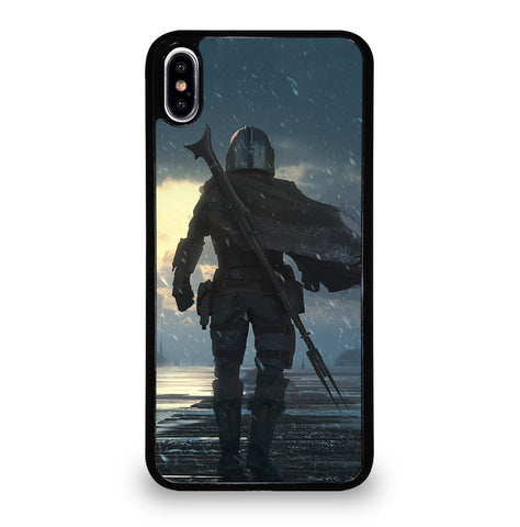 THE MANDALORIAN BACKSIDE for iPhone XS Max Case Cover