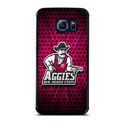 The New Mexico State Aggies for Samsung Galaxy S6 Edge Case Cover