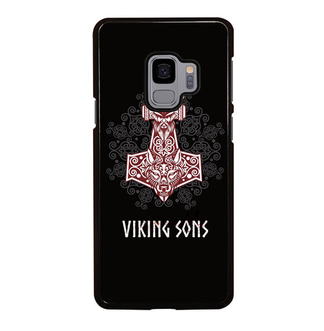Thor Hammer Mjolnir mit Odin for Samsung Galaxy S9 Case Cover