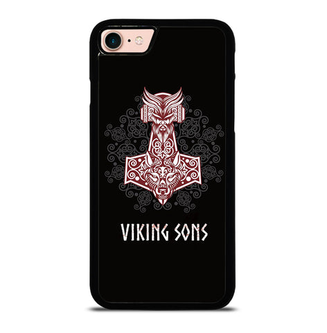Thor Hammer Mjolnir mit Odin for iPhone 7 or 8 Case Cover