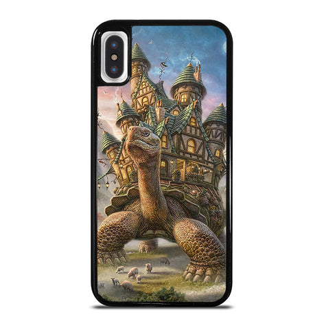 Tortoise House for iPhone X and XS Case Cover