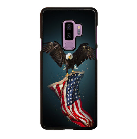 USA Patriotic Eagle for Samsung Galaxy S9 Plus Case Cover