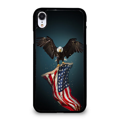 USA Patriotic Eagle for iPhone XR Case