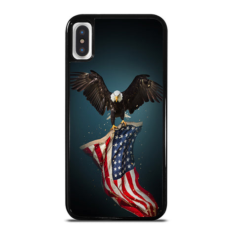 USA Patriotic Eagle for iPhone X or XS Case Cover