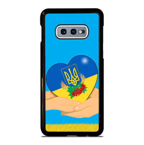 Ukraine Love Symbol for Samsung Galaxy S10e Case Cover