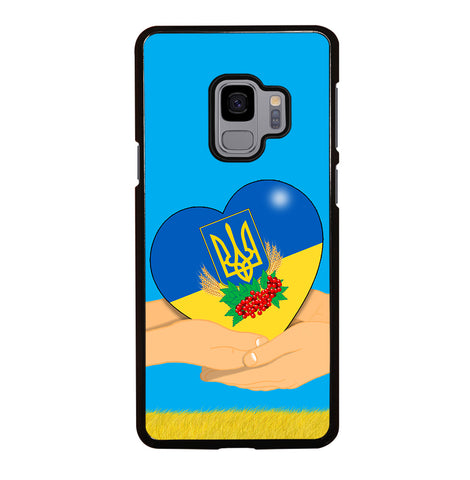 Ukraine Love Symbol for Samsung Galaxy S9 Case