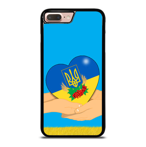 Ukraine Love Symbol for iPhone 7 or 8 Plus Case Cover