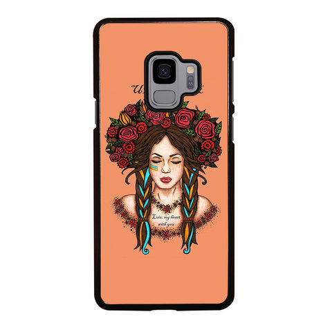 Ukraine Woman Revolution for Samsung Galaxy S9 Case Cover