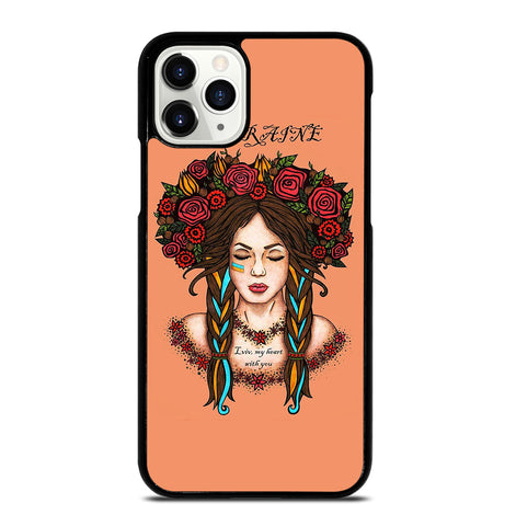 Ukraine Woman Revolution for iPhone 11 Pro Case Cover