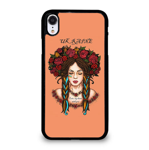Ukraine Woman Revolution for iPhone XR Case